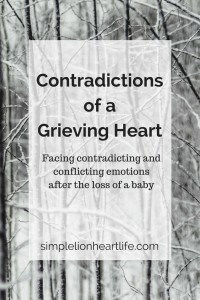 Contradictions of a Grieving Heart