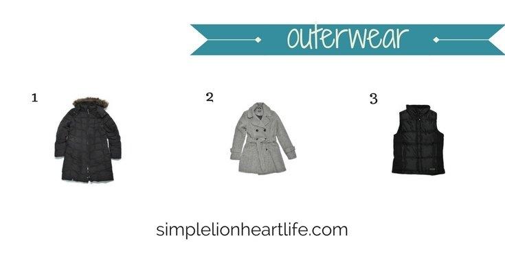 2017 Winter Capsule Wardrobe - outerwear