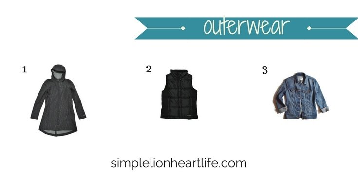 2017 stay at home mom spring capsule wardrobe - outer wear