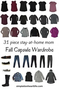 2017 stay at home mom fall capsule wardrobe