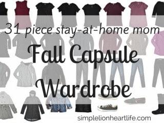 2017 stay at home mom fall capsule wardrobe