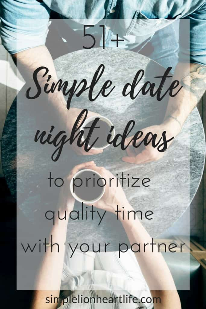 51+ simple date night ideas to prioritize quality time with your partner