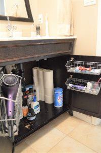 Minimalist bathroom tour - simplifying to make life easier