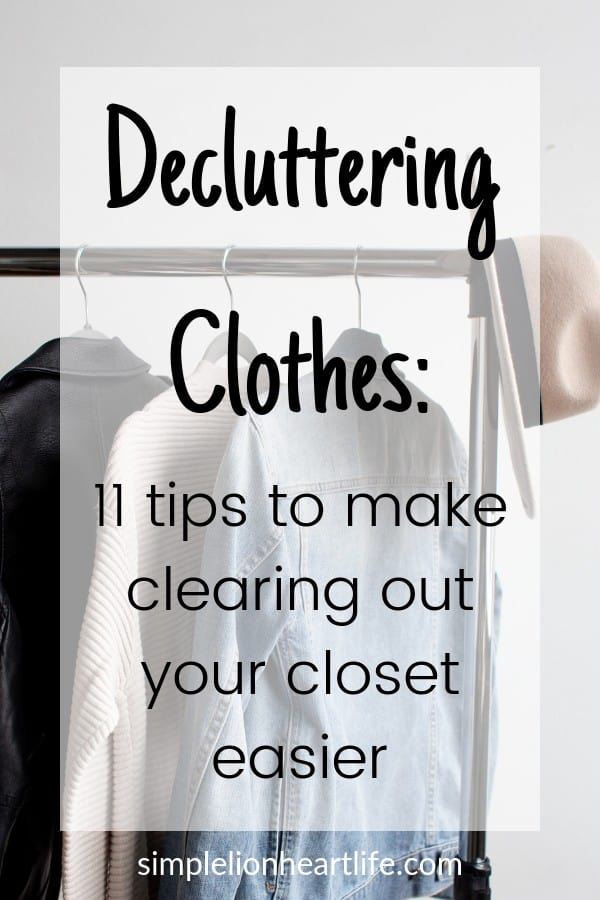 Decluttering clothes: 11 tips, tricks & hacks to make purging your closet easier