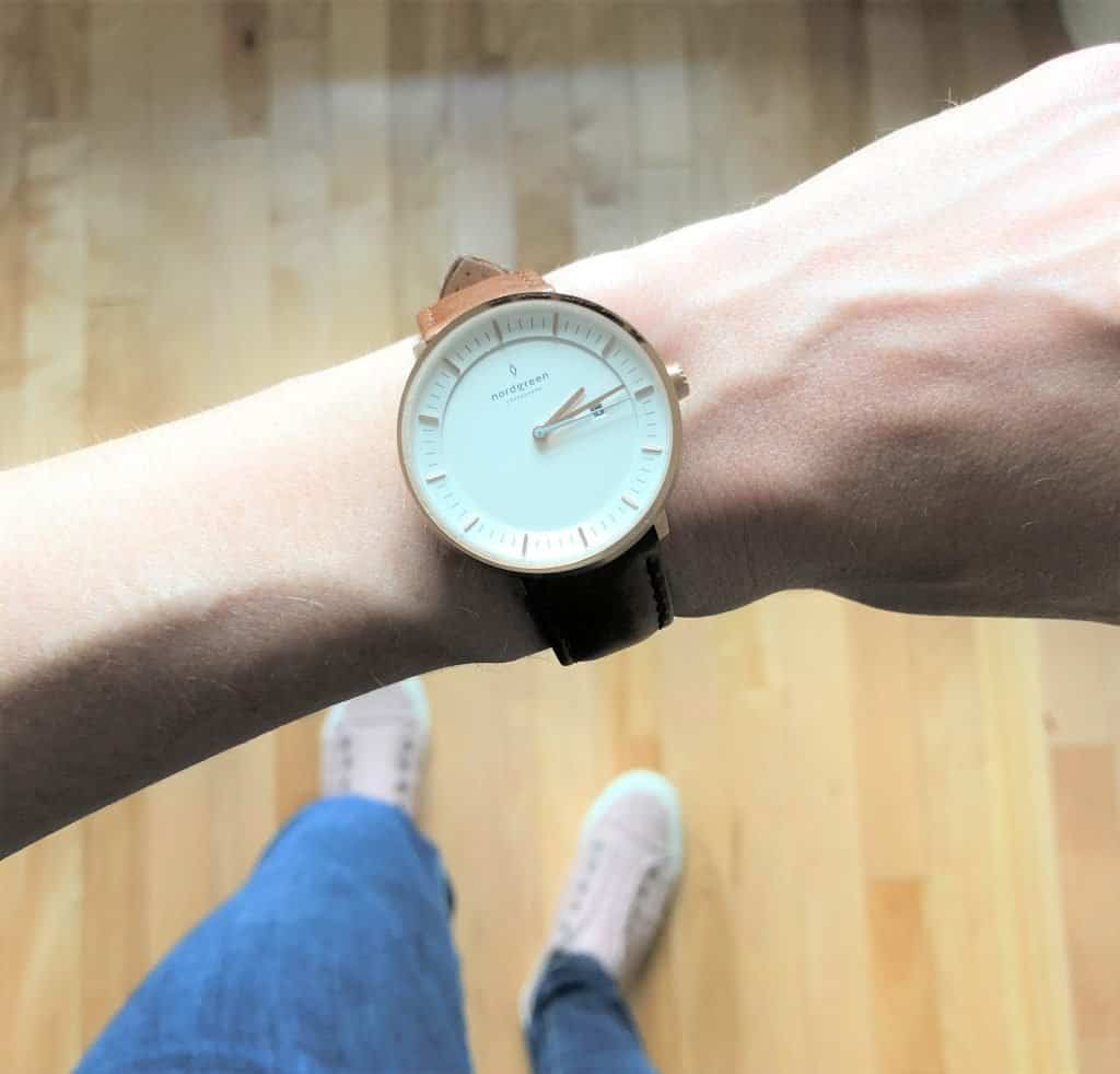 Capsule wardrobe accessories - minimalist watches. Nordgreen watches