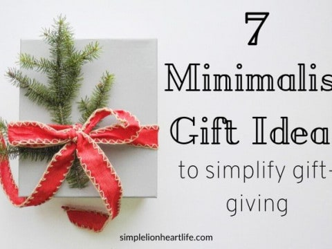 7 Minimalist Gift Ideas to Simplify Gift-Giving
