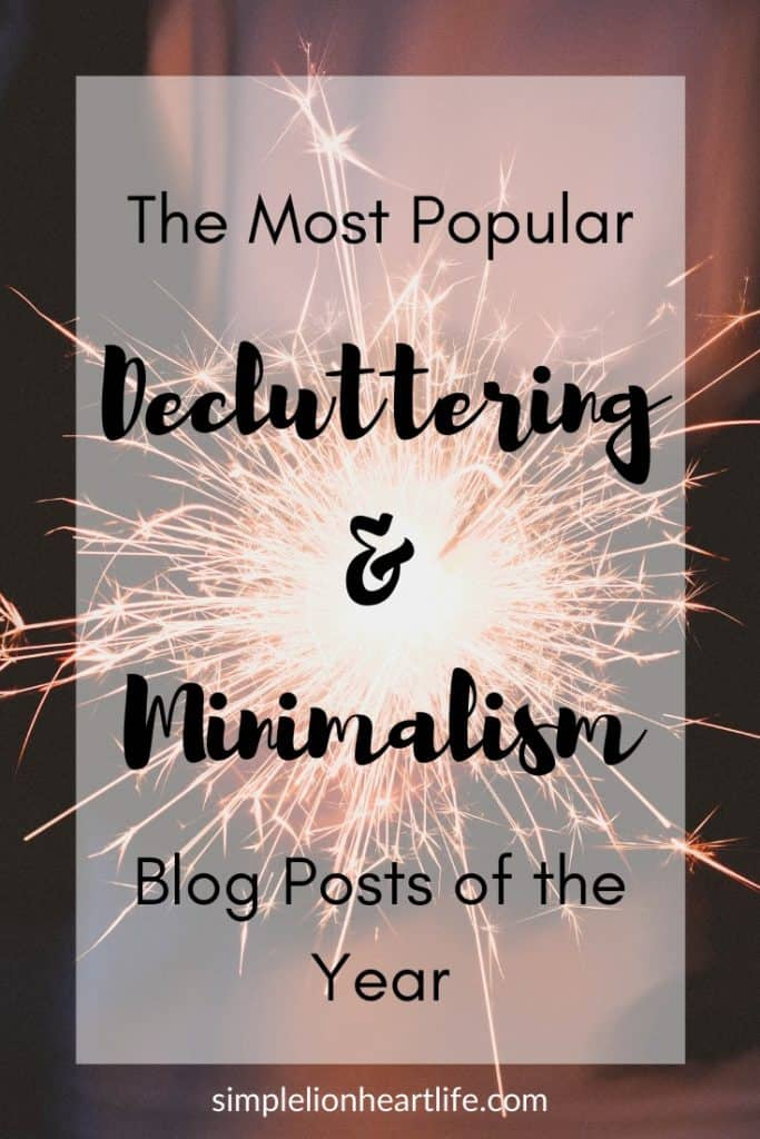 The Most Popular Decluttering & Minimalism Blog Posts of the Year