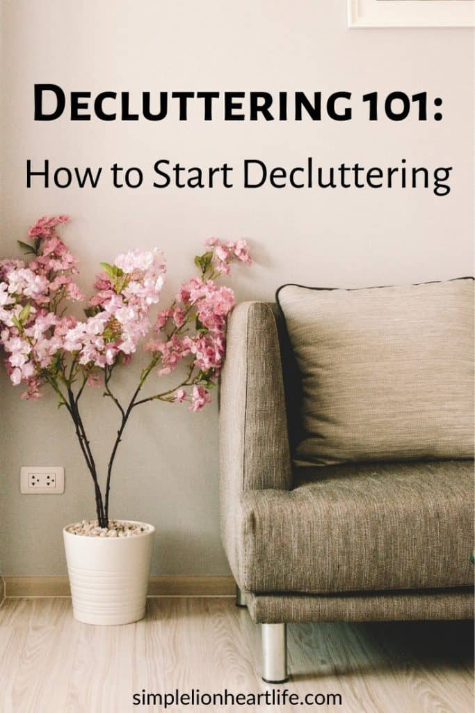 6 steps to teach you how to start decluttering