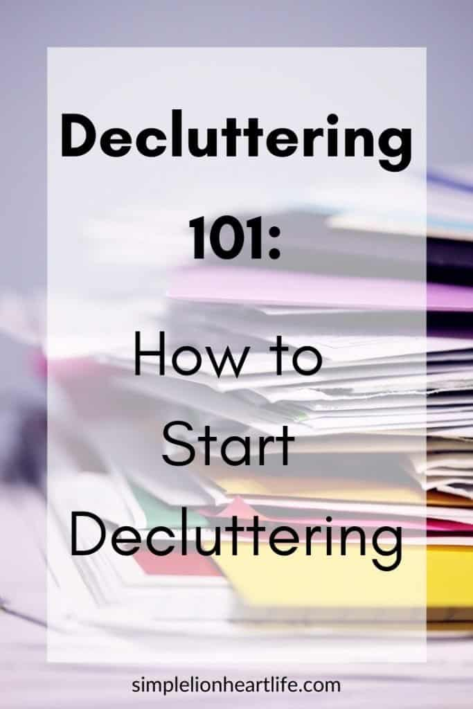 Decluttering 101: learn how to start (and finish) decluttering