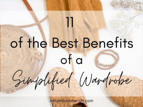 11 of the Best Benefits of a Simplified Wardrobe