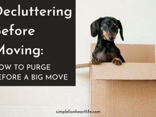 Decluttering Before Moving: How to Purge Before a Big Move